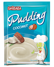 Coconut Pudding پودینگ نارگیلی